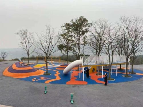 悦来滨江公园非标游乐设备